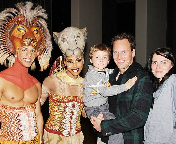 Roar! Broadway Vet Patrick Wilson Checks Out The Lion King