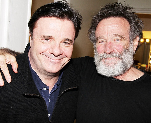 Birdcage Reunion! Nathan Lane Visits Robin Williams at Bengal Tiger
