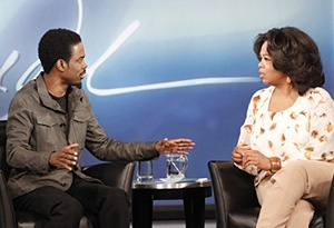 Oprah Winfrey Shares Broadway Dreams With Motherf**ker Star Chris Rock