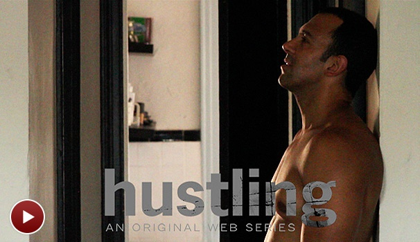 Exclusive! Sneak a Sexy Peek at Hustling, a New Web Series from Broadway's Sebastian LaCause