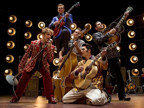 Get an Electrifying Musical Preview of Rock 'n' Roll Icons on Stage in Million Dollar Quartet