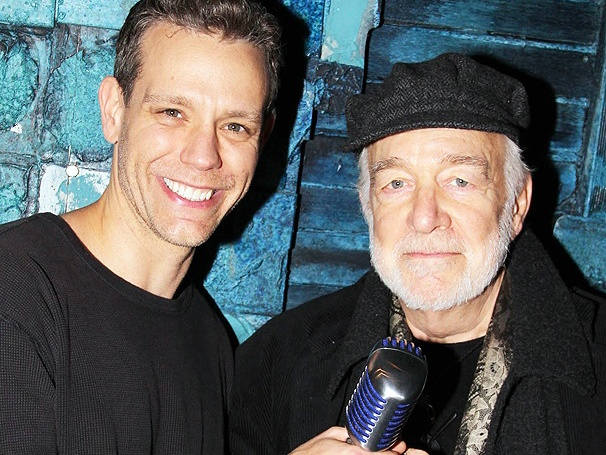 WKRP Star Howard Hesseman Watches Adam Pascal Spin Hits in Broadway's Memphis