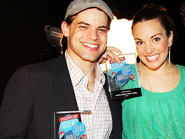 Newsies' Jeremy Jordan and Kara Lindsay on Sharing Broadway.com Awards: 'We're Just Big Fat Goofballs'