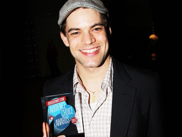 A Double Audience Choice Award Win Sends Jeremy Jordan 'Over the Moon'
