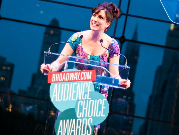 'What the Heck?' Anything Goes' Stephanie J. Block on Her Impromptu Wicked Acceptance Speech at the Audience Choice Awards