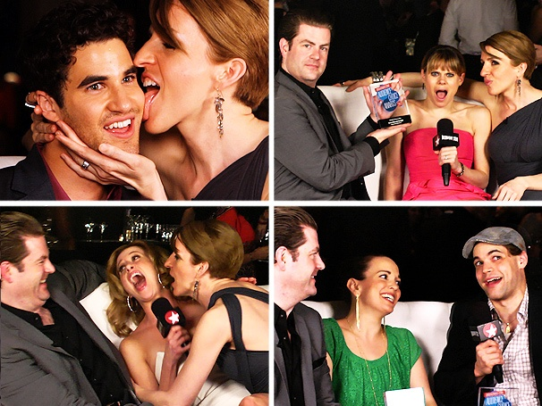 Darren Criss, Jeremy Jordan & More Talk Panties, Parties and Patti LuPone with Susan Blackwell and Paul Wontorek at the Broadway.com Audience Awards