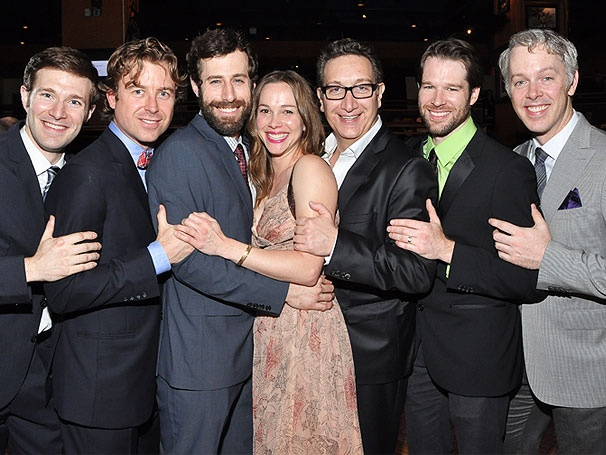 It's an Elegant Opening Night for Josh Cooke & the Cast of Off-Broadway's The Common Pursuit
