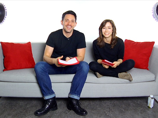 Broadway Buzz: Once Stars Steve Kazee and Cristin Milioti Answer Readers' Questions about Life in the Tony-Winning Musical