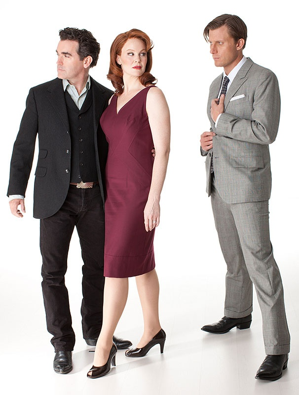 See Brian d'Arcy James, Kate Baldwin and PJ Griffith Get Hot in Texas in Giant