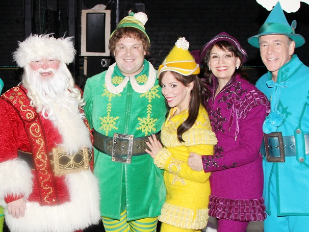 Buddy's Back! Elf Returns to Broadway for the Holidays
