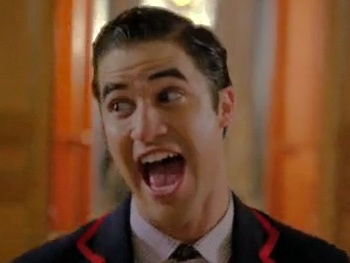 Watch Glee's Darren Criss Move Over to the 'Dark Side' with Grant Gustin and Nolan Gerard Funk