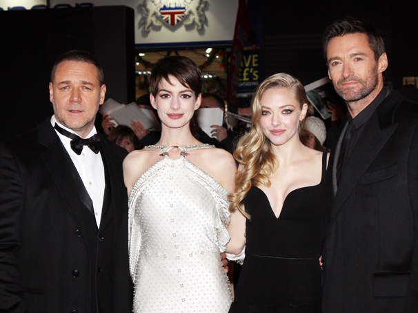 First Photos of Hugh Jackman, Anne Hathaway & More at the London Premiere of Les Misérables