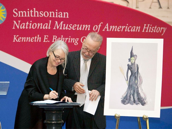 The Smithsonian Gets Wicked as Iconic Elphaba Costume Goes on Display