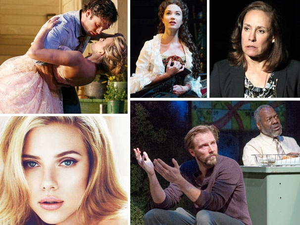 Scarlett, Sierra, Sebastian & More: Five Sizzling New Shows to See Right Now