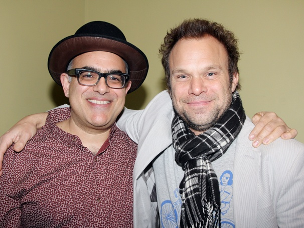 Norbert Leo Butz & Composer David Yazbek Wow the Crowd at 92YTribeca Concert