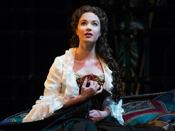 Phantastic! First Look at Sierra Boggess & Hugh Panaro in the 25th-Anniversary Cast of The Phantom of the Opera 