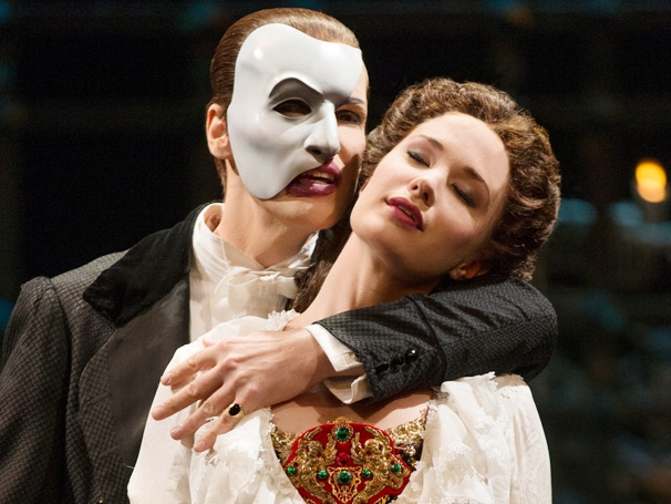 Sierra Boggess Begins Performances as Christine in the 25th-Anniversary Cast of The Phantom of the Opera