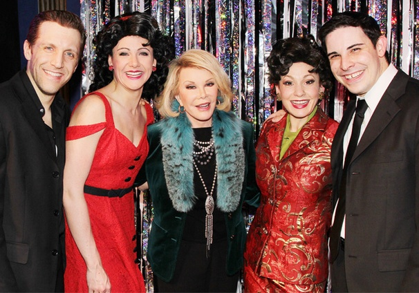 Joan Rivers Feels the Funny at Forbidden Broadway: Alive & Kicking