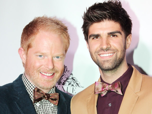Stars Come Out to Celebrate Modern Family Star Jesse Tyler Ferguson's Tie the Knot Collection