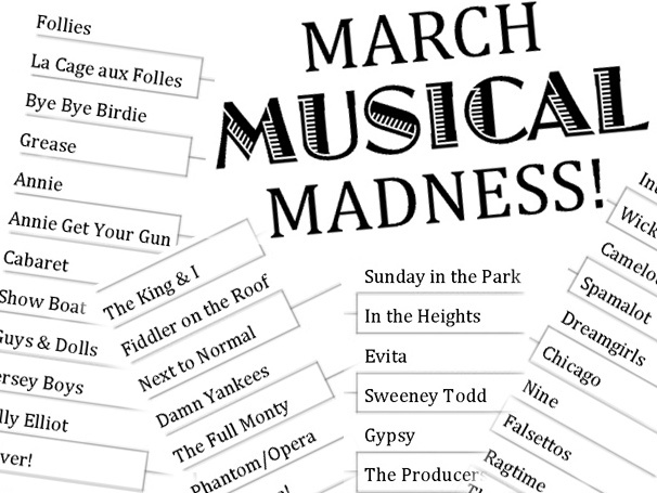 March Musical Madness! What's the Best Broadway Musical of All Time?