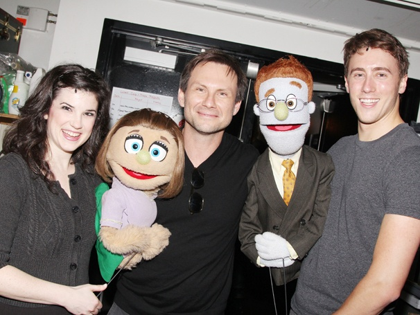 Christian Slater Takes a Trip to Avenue Q at Off-Broadway's New World Stages