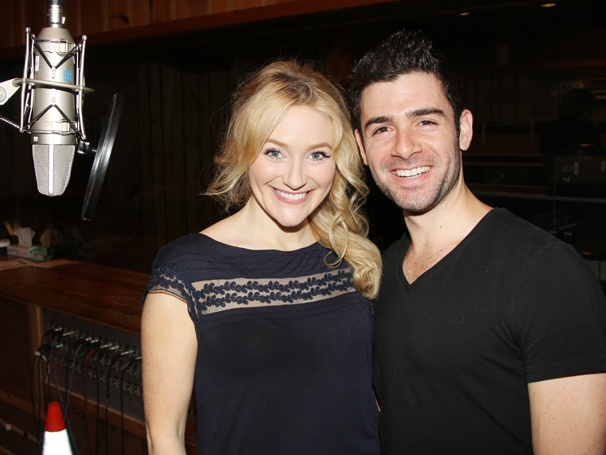 Betsy Wolfe & Adam Kantor Relive The Last Five Years at Cast Album Recording Session