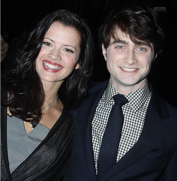 Daniel Radcliffe Shows Off How to Succeed Ingenue Rose Hemingway on Harry Potter Red Carpet