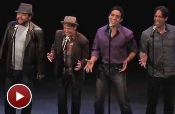 Watch Adam Jacobs, Andrew Keenan-Bolger and the Cast of Seattle's Aladdin Preview New Song