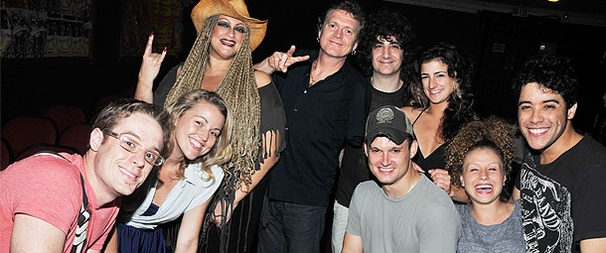 Def Leppard Drummer Rick Allen Drops by Rock Of Ages!