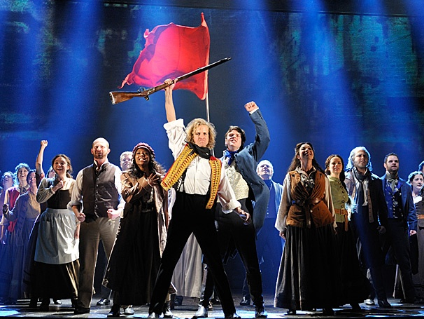 Get a Peek at the Revolution with Epic Footage of the National Tour of Les Miserables