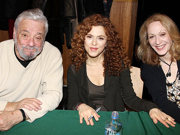 Stephen Sondheim, Bernadette Peters, Jan Maxwell and More Live, Laugh, Love and Sign Follies CDs