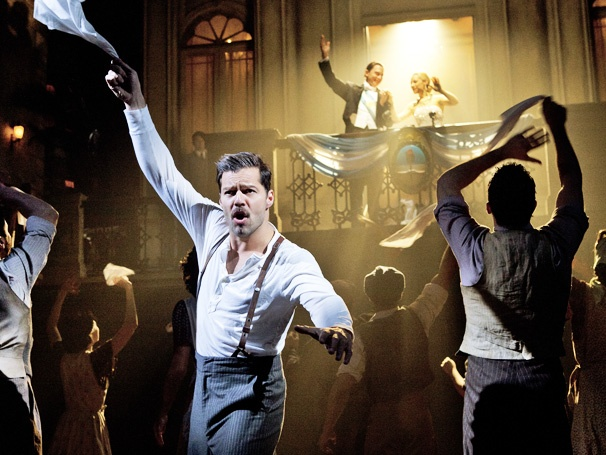 Broadway Grosses: Evita Closes Strong; Mormon Leads the Pack