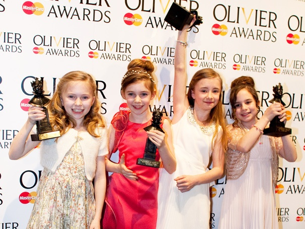 Matilda's 'Ecstatic' Young Stars and Choreographer Celebrate Their Olivier Awards