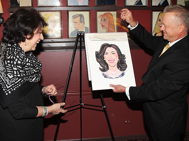 Brava! Sardi's Pays Tribute to Manhattan Theatre Club Artistic Director Lynne Meadow