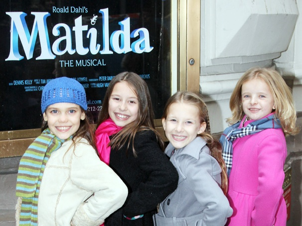 Get a First Look at the Magical Young Actresses Who Will Alternate the Title Role in Broadway's Matilda