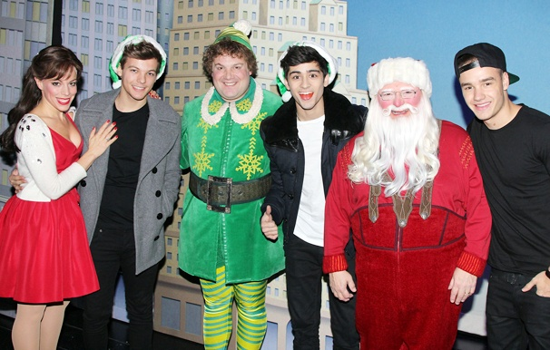 Superstar Boy Band One Direction Rings in the Holidays with Buddy and Co. at Elf