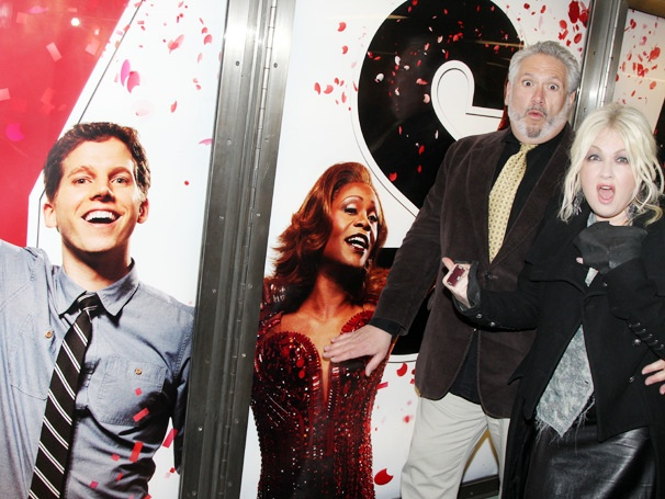 See Cyndi Lauper and Harvey Fierstein Go Down Under For Kinky Boots