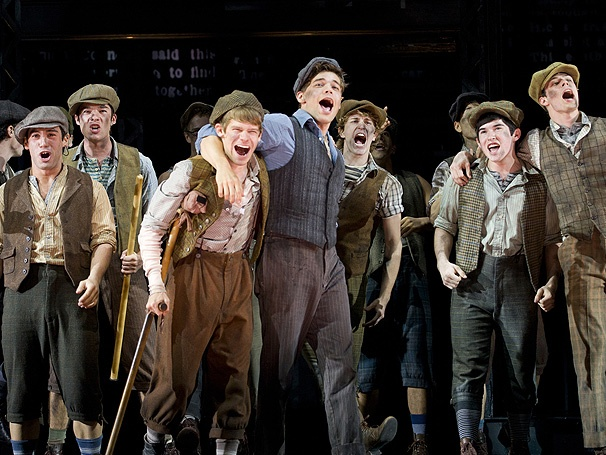 Take a First Look at Jeremy Jordan and the Boys of Newsies