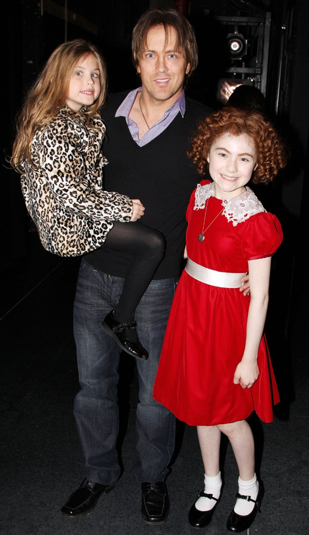 Dannielynn & Larry Birkhead Enjoy a Father/Daughter Outing at Annie