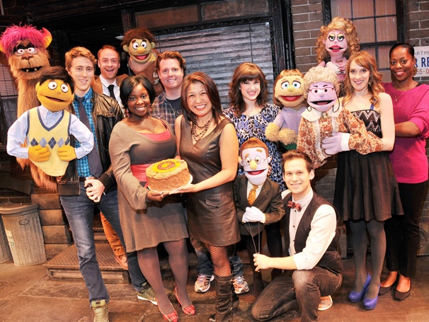 The Avenue Q Puppet Masters Celebrate Three Years at Off-Broadway's New World Stages