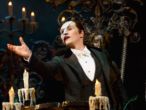 Get a Phabulous First Look at Phantom Headliner Peter Joback, Broadway's Newest Masked Man