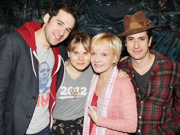 Peter Pan's Cathy Rigby Boards the Neverland Ship with the Stars of Peter and the Starcatcher