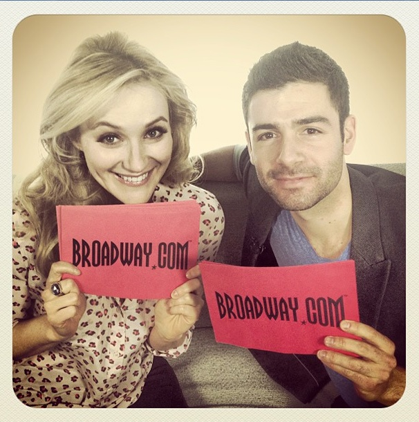 Instagram Hot Shot! The Last Five Years Stars Betsy Wolfe & Adam Kantor Get Cozy on the Broadway.com Couch
