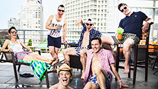 Pride Pool Party! Get Wet and Wild with Six Out Stage Stars