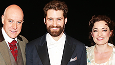 The Cast of Finding Neverland Celebrates 150 High-Flying Performances