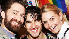 Gleek Party with Darren Criss & Matthew Morrison at Hedwig