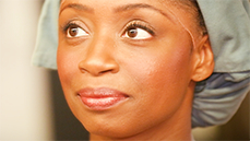 'It's a Lot!' Montego Glover Gets Ready Backstage for the Crawling, Dying, Weeping of <I>Les Miserables</I> Heroine Fantine