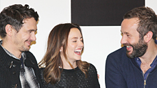 Why Is Broadway Like Sex? <I>Of Mice and Men</I> Stars James Franco, Leighton Meester & Chris O'Dowd Explain