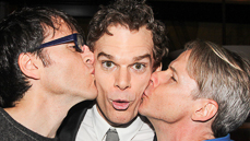 Photos! The <I>Hedwig and the Angry Inch</I> Crew Hosts a Star-Studded Bash For New Headliner Michael C. Hall