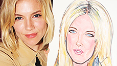 Sienna Miller Gets a Sardi's Surprise! See the Unveiling of the <I>Cabaret</I> Star's New Portrait